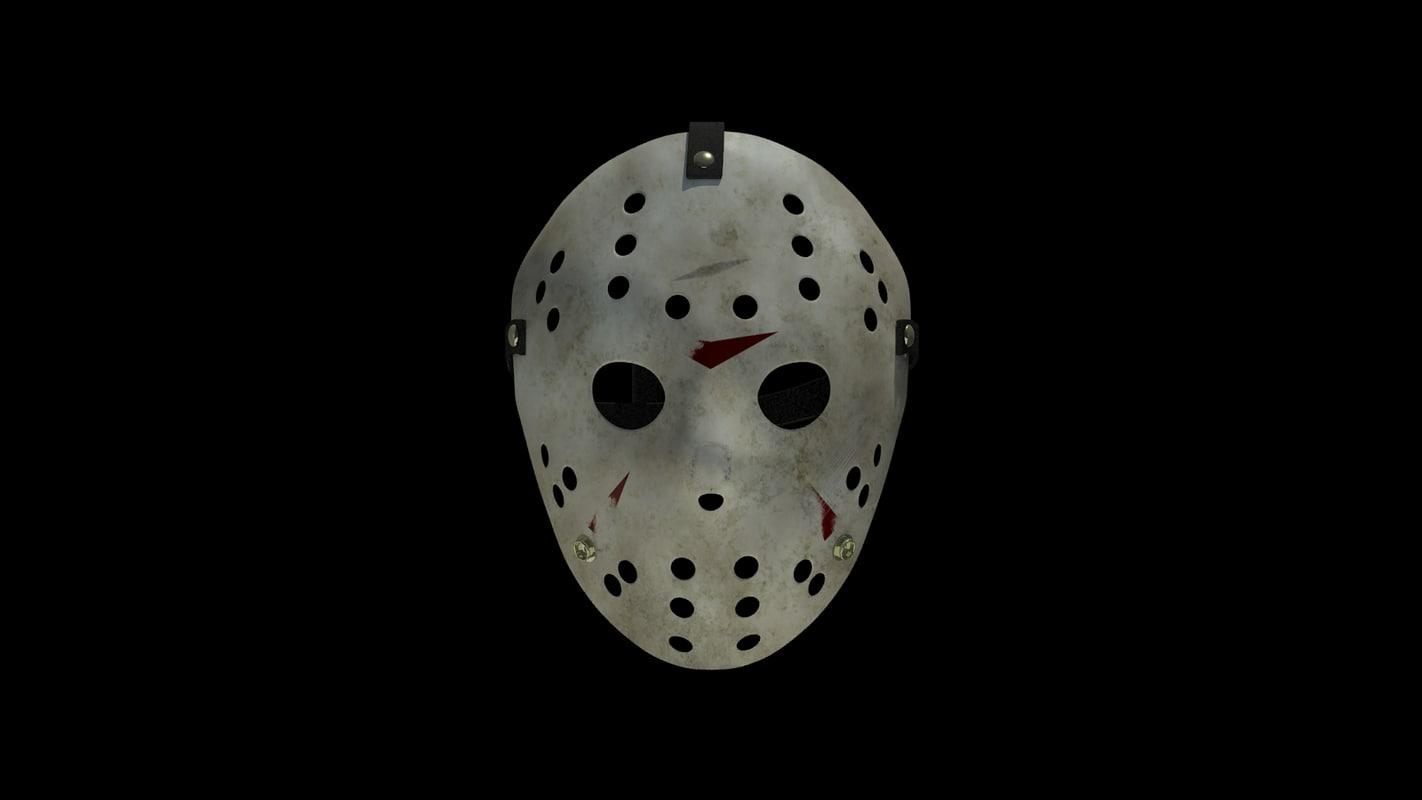 hockey goalie mask 3d obj