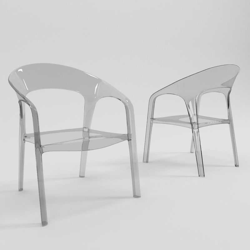 gossip chair 3d max