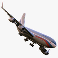 3d ilyushin il-96-300 model