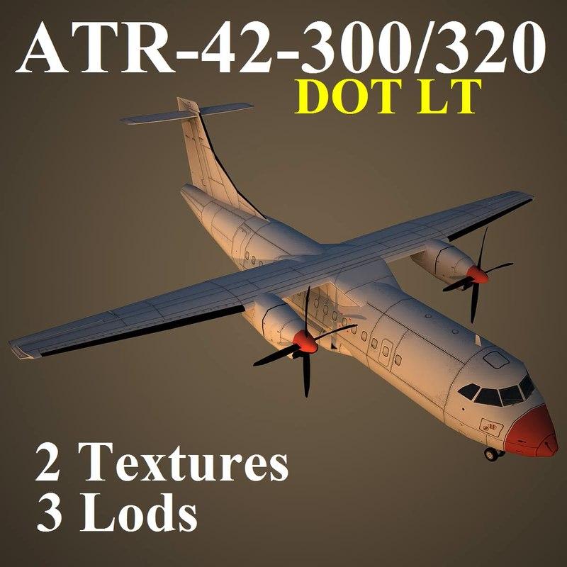 3d atr-42-300 dnu model