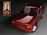 3d 3ds oldsmobile bravada