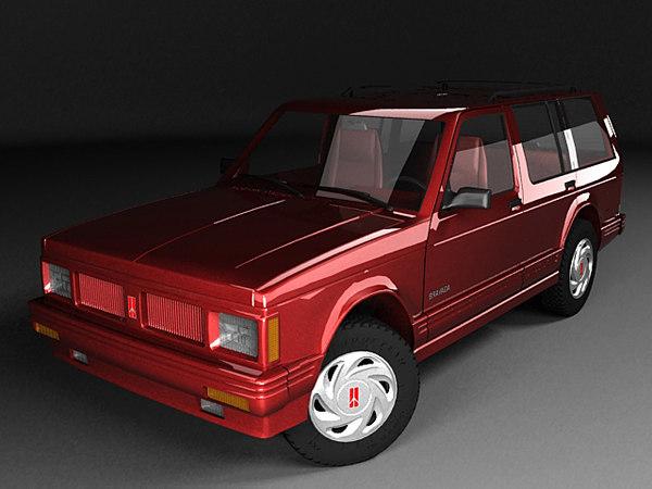 3d 3ds oldsmobile bravada