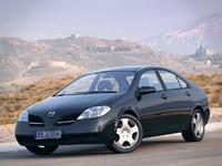 3d nissan primera p12 sedan model