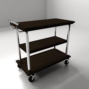 food cart 3d 3ds
