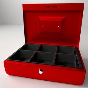 petty cash box 3ds