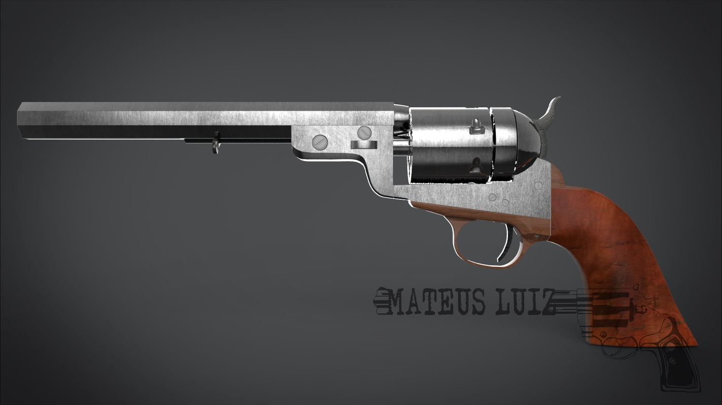 3d pistol conversion model