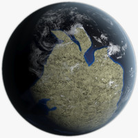 earth 560 3d model