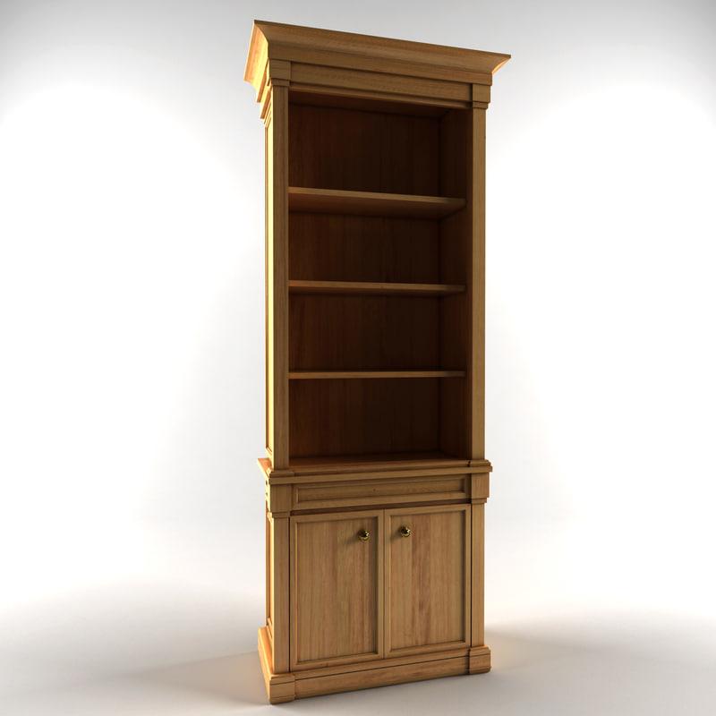 3d model classic armoire