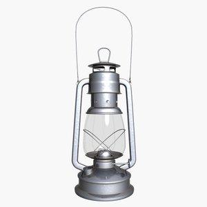 3d model lantern old