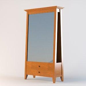 obj wentworth dressing mirror
