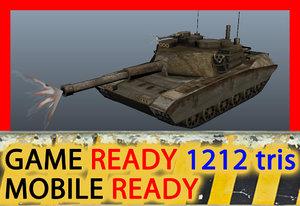 rusty tank obj