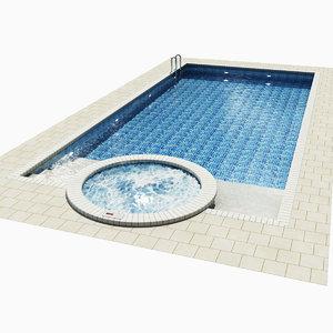 3d max swimming pool