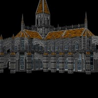 cathedral 3d dxf