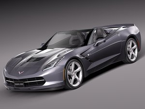 2013 2014 muscle car 3d max