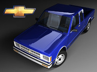 chevrolet s-10 cab fl 3d model