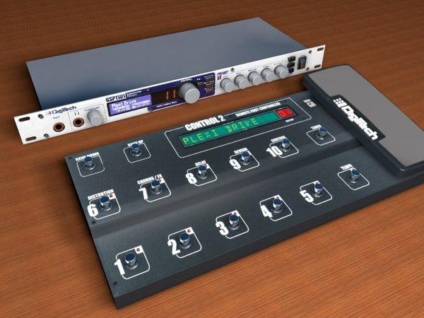 prossesor digitech gsp1101 3d model