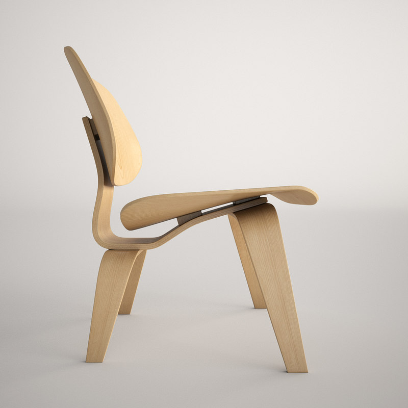 3ds max charles eames lcw chair