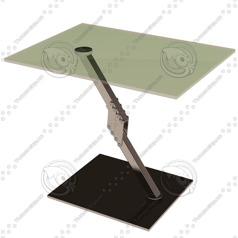eichholtz table clifton rectangular 3d 3ds