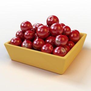 3dsmax fruit 011 cranberry