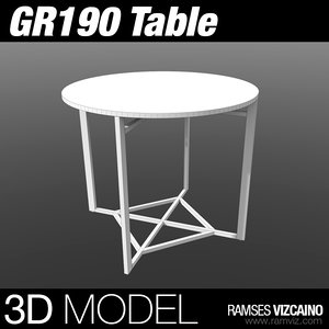 gr190 table max