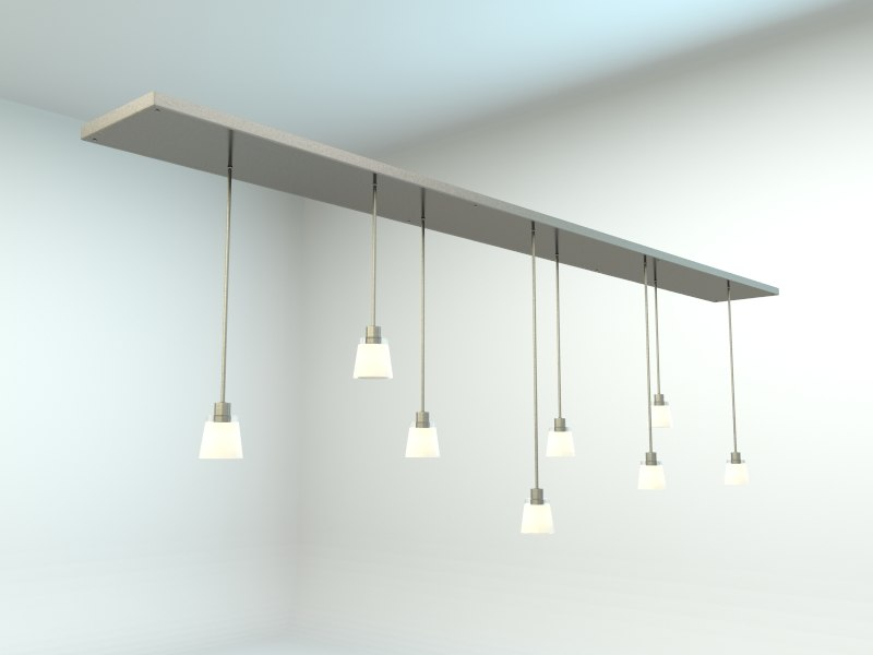 3ds max inspired pendant lamp