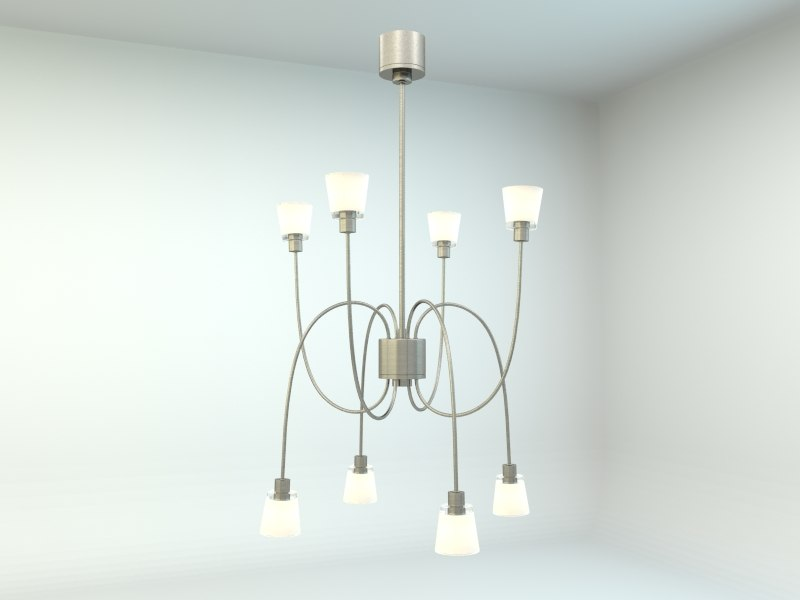 3d ikea kryssbo pendant lamp model