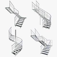 3ds stairs scene