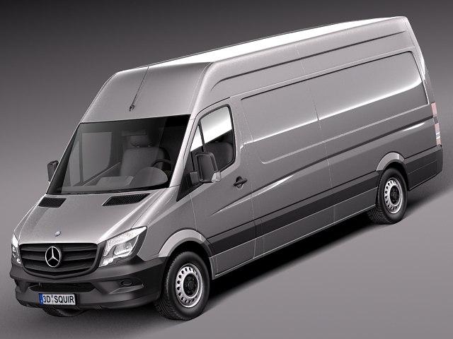 3d model 2013 2014 mercedes van