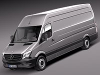 Mercedes Sprinter long high 2014