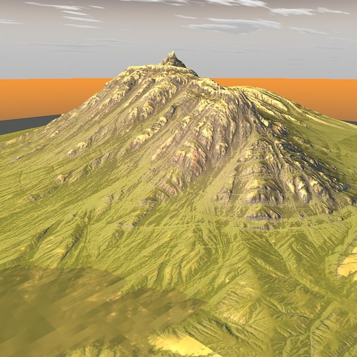 3 moel mountain maps terrain