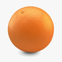 free 3ds model orange resolution photorealistic