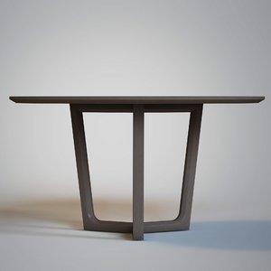 3d poliform - concorde table