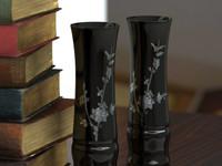 3d model vase pearl incrustation