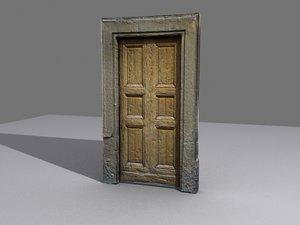 door stone 3d model