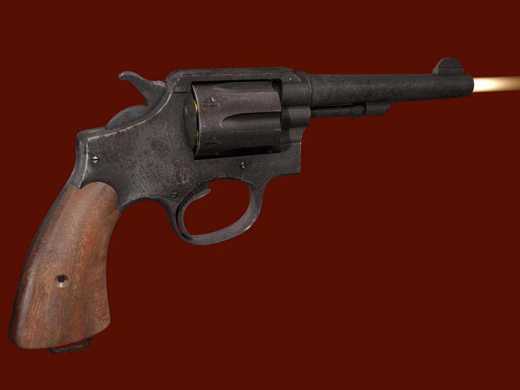 smith wesson victory 3d model