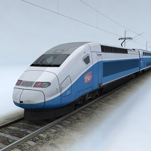 3ds max train details