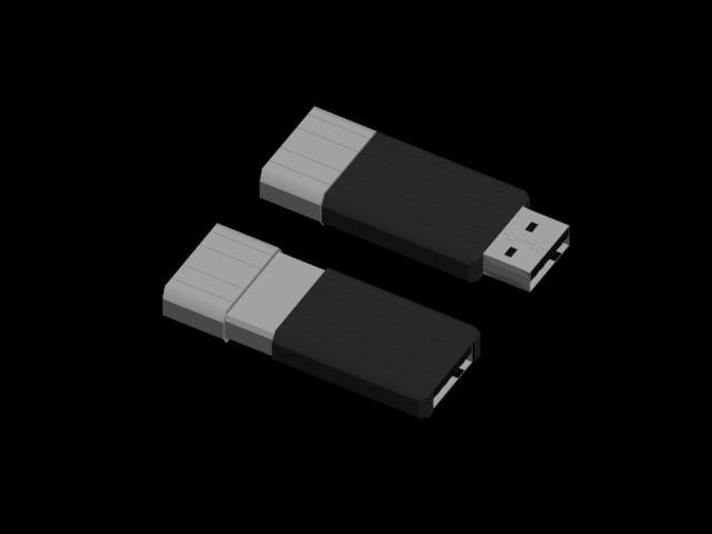 usb device 3d model
