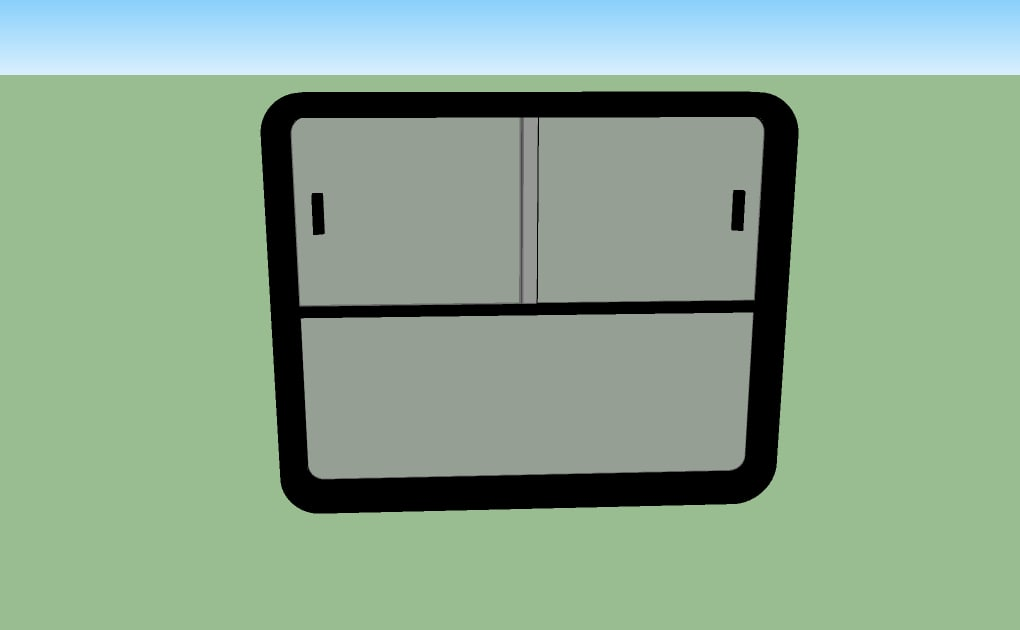 window bus 3d model