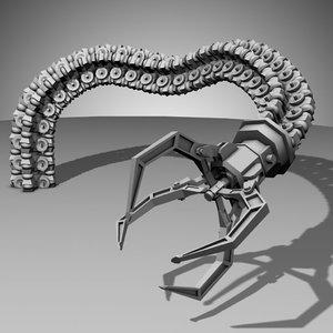 robot arm - 3d model