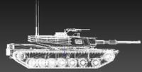 3d abrams u s military tank