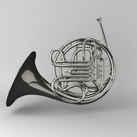 obj french horn