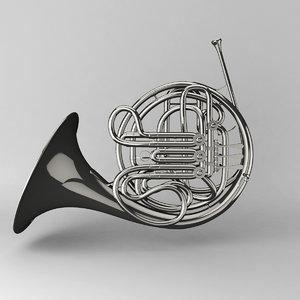 obj french horn