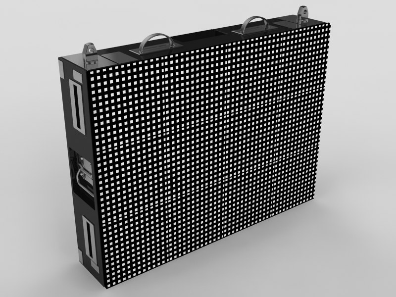 3dsmax led display