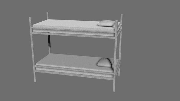 3d bunkbed
