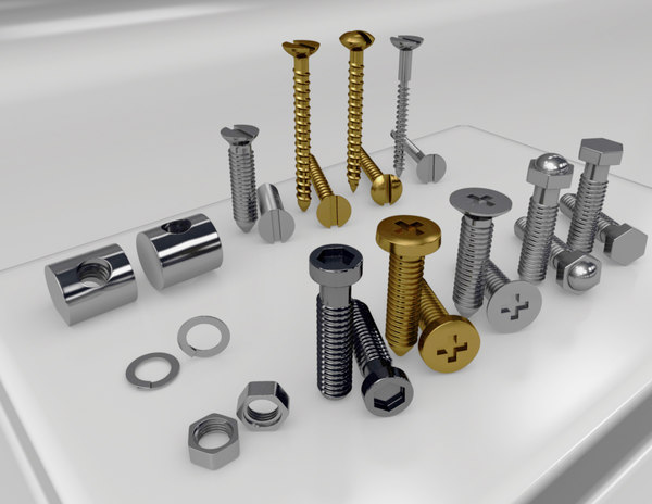 obj screw nut bolt kit