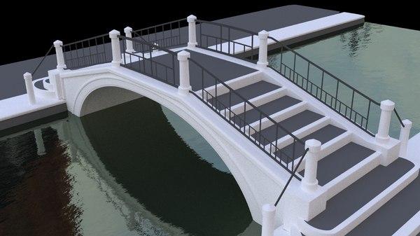 venetian bridge 3d 3ds