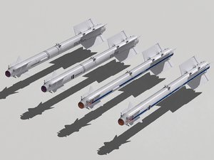 3d r-73 family missiles