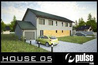 3ds max family house 05