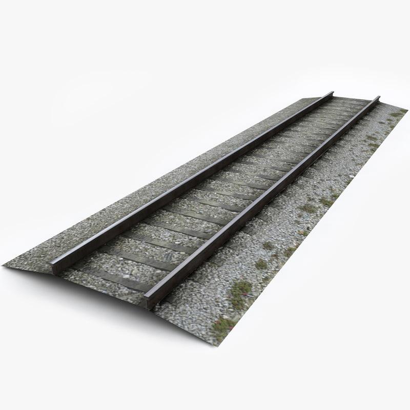 3d rail track