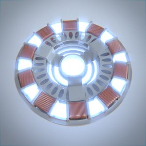 arc reactor 3d 3ds